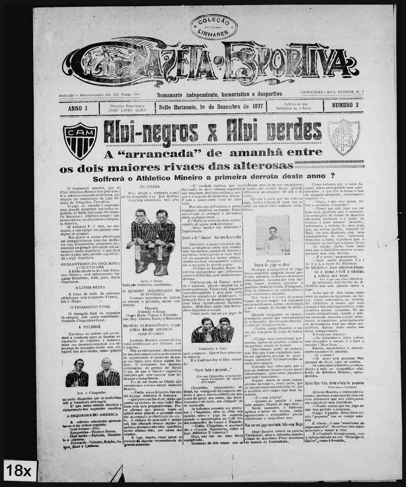1917 - gazeta esportiva colecao linhares